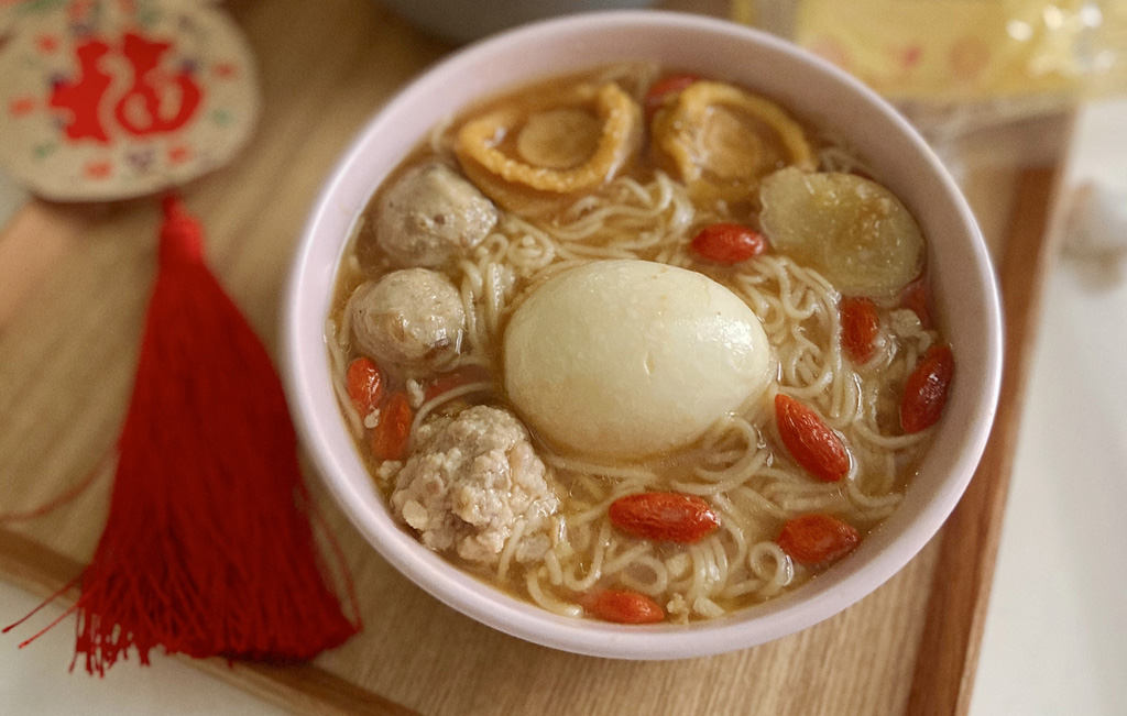 招财进宝Lucky Fortune Abalone MiSua Soup