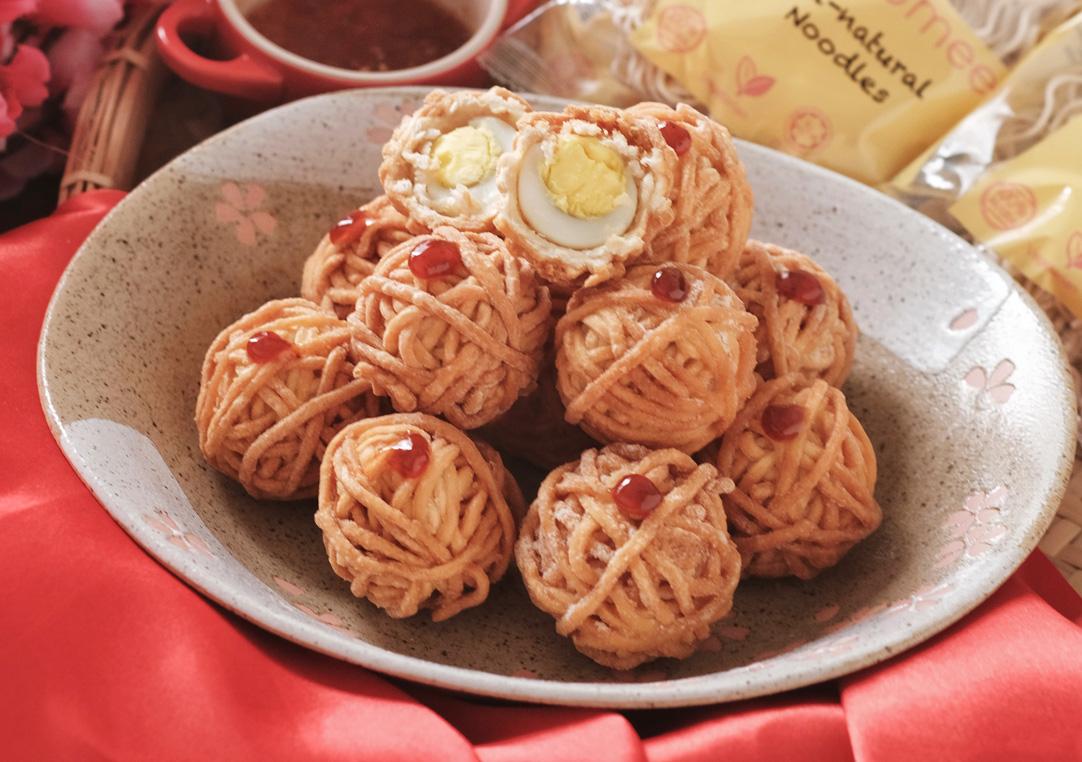 黄金球 Golden noodles balls